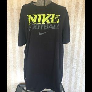 Nike football dri-fit tee.